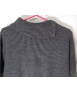 Nina Leonard 1X Plus Womens Ribbed Sweater - $7.00