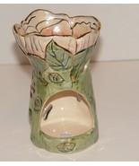 Heather Goldminc 2001 Blue Sky Tea Llight Candle Holder Dragon Fly - $16.99