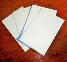 4 x 6 White Blank Postcards 110 lb Light Weight Paper Art Tiles - $13.81+