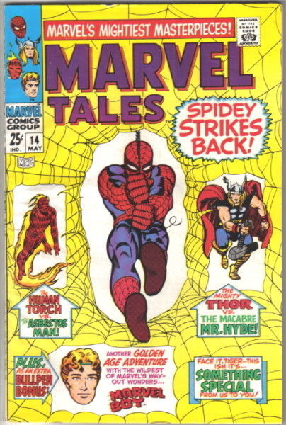 Marvel Tales Comic Book #14, 1968 VERY FINE-