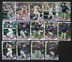 2019 Bowman Paper & Chrome Minnesota Twins Team Set 14 Baseball Cards - $9.99