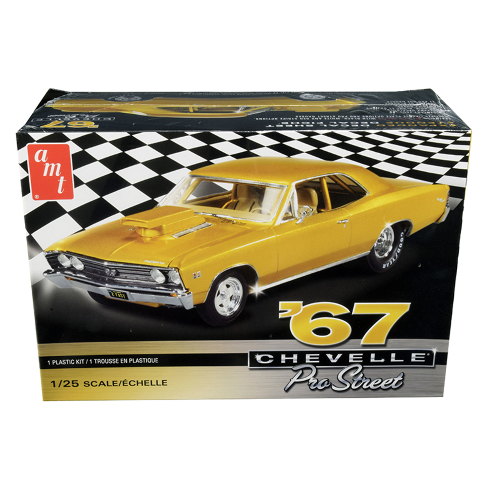 Primary image for Skill 2 Model Kit 1967 Chevrolet Chevelle Pro Street 1/25 Scale Model by AMT AMT