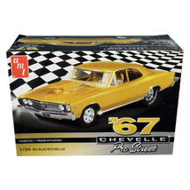 Skill 2 Model Kit 1967 Chevrolet Chevelle Pro Street 1/25 Scale Model by... - $40.31