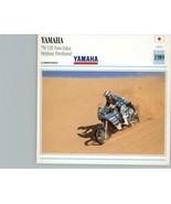 1991 Yamaha 750 YZE Paris-Dakar Stephanie Peterhansel Motorcycle Photo S... - $3.47