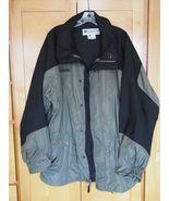 Columbia Double Whammy Gray Black Ski Snowboard Jacket Coat Size L Large... - $19.95