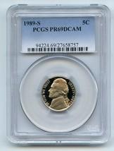 1989-S 5C DC (Proof) Jefferson Nickel  - $12.19