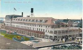 Atlantic Hotel Ocean City Maryland Vintage Post Card - $5.00