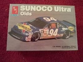 AMT Sunoco Ultra Oldsmobile Cutlass 1/25 Scale Model Car, NIB - $5.88