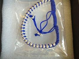 BLUE BAND METALLIC BASE METAL BRACELET - $19.99