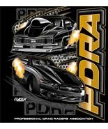 PDRA 2020 Gold Design w/Chevy/Mustang on a dark blue XL tee shirt - $27.00