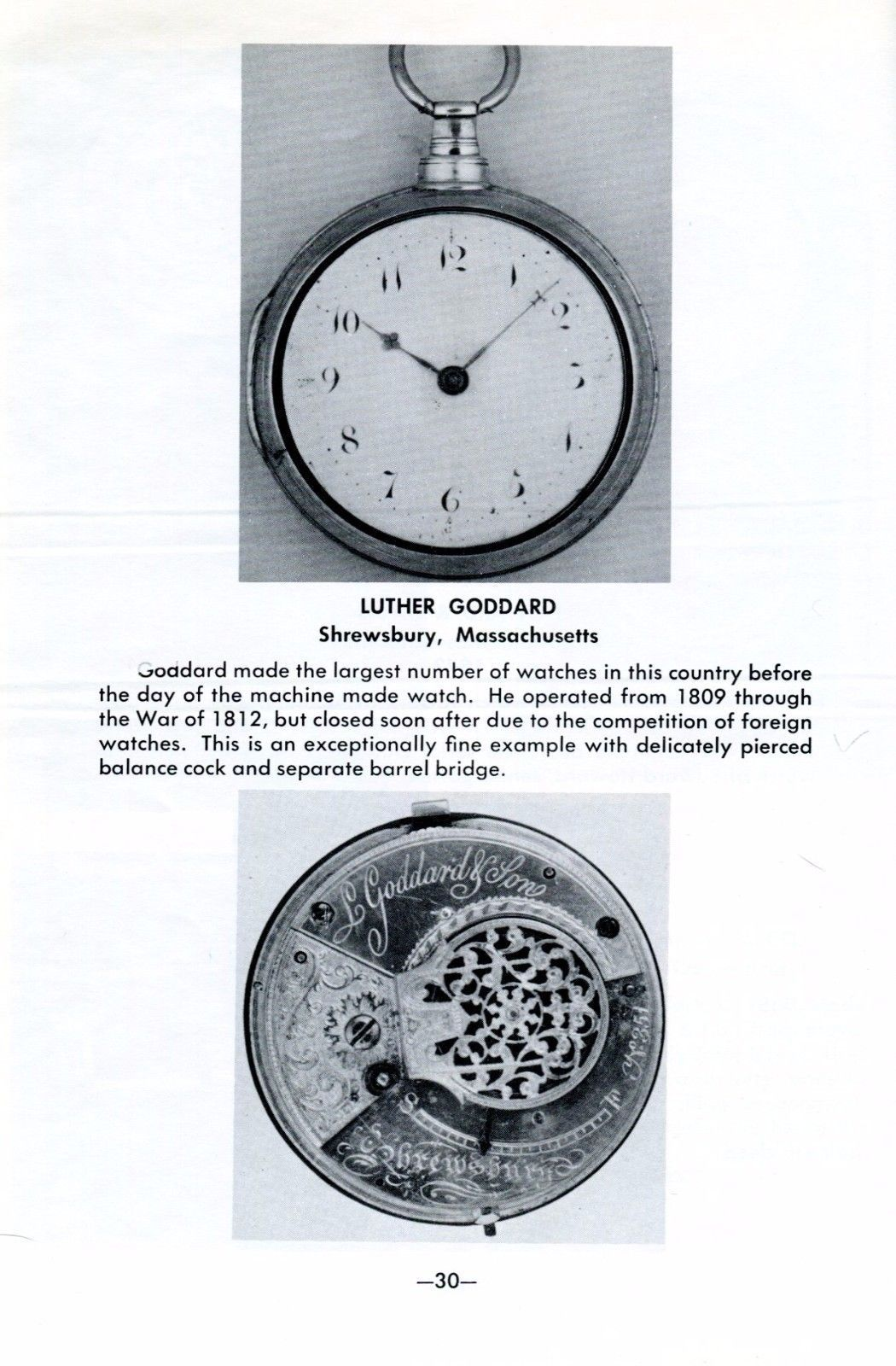 New England Clocks & Watches Exhibit 1959 NAWCC 15th Annual Convention PB
