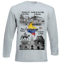 COLOMBIA CARTAGENA - NEW COTTON GREY TSHIRT - $20.84