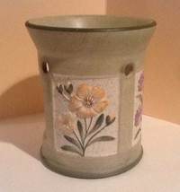 Yankee Candle Co Pastel SummerWildFlower Candle Tart Warmer + Lavender T... - $19.34