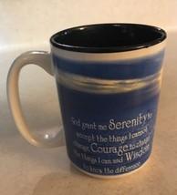 2008 Abbey Press Serenity Courage Wisdom Mug  - £9.22 GBP