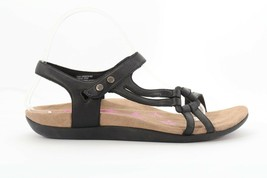 Abeo Oasis Sandals Black Size US 7 Neutral Footbed ()  4772 - $80.00