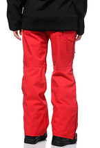 686 Mannual Patron Snowboard Pants Womens 10k Insulated Red S image 2