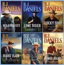 Montana Hamiltons Series Collection Set Books 1-6 Paperback B J BJ Danie... - $36.99