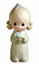 Precious Moments Wedding Bridesmaid Gifts Junior Bridesmaid Figurine E-2845 - $26.72