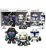 SW Star Wars Year 2010 Mini Muggs Series 3 Pack 3 Inch Tall Figure - Bou... - $44.99