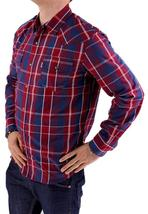 NEW NWT LEVI'S MEN'S LONG SLEEVE BUTTON UP CASUAL DRESS SHIRT RED 3LYLW0042 image 4