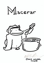 Spanish Apes: Macerar. Original Signed Cartoon by Walter Moore - $9.42
