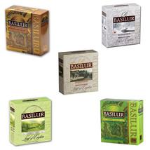 Basilur Pure Ceylon Tea 100 Tea Bags X 02 Packs , Kandy, Radella, Gold, ... - $32.77