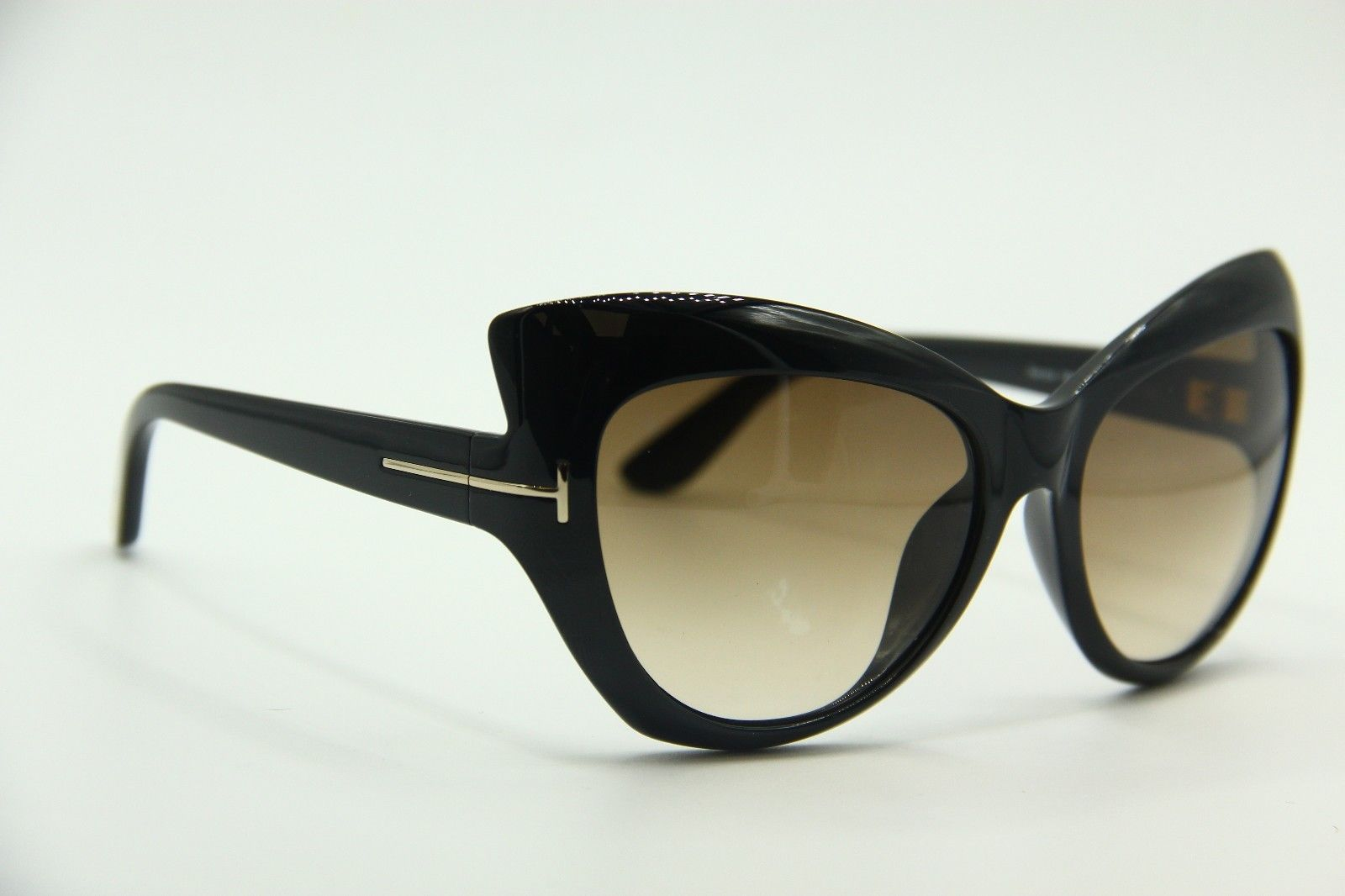 5c30772f21 57. 57. TOM FORD TF 9284 01F BARDOT BLACK GRADIENT AUTHENTIC SUNGLASSES  59-17 W CASE. TOM FORD ...