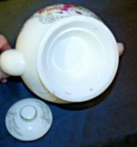Porcelain China Teapot with Lid AA-191966 Vintage Japan image 4