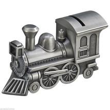 Pewter Train Money Piggy Bank - $26.72