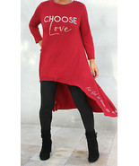 Love Beauty for Ashes® Womens Crystal Choose Love John 3:16 Maxi Red Hi ... - $79.50