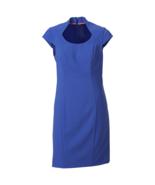 Marc NY Andrew Marc Womens Lux Stretch Sheath Dress Blue 4 #NHKXL-M186* - $34.99