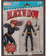 2017 Hasbro Marvel Black Widow Action Figure New In The Package - $29.99