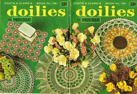 Vtg Sunflower Crocus Chrysanthemum Fluted Crochet Doily by Priscilla Pat... - $13.99
