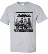Dokken breaking the chains heavy metal gray graphic tee thumb200