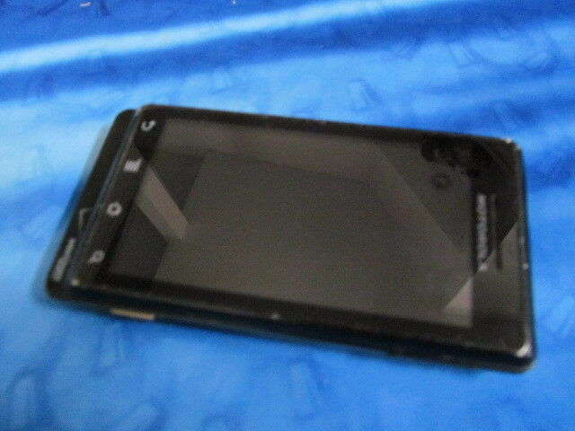 Primary image for Motorola Droid A855 Black Verizon QWERTY Slider Cell Phone  Clear MEID