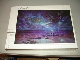 """In Gooood 1000pc Wooden Jigsaw Puzzle - """"Star Sea"""" Brand New, Sealed - $19.79"""