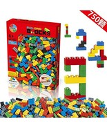 Building Blocks 1000 Pieces Set, Building Bricks Creative DIY Interlocki... - $18.73