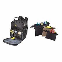 Custom LeatherCraft 1132 75-Pocket Tool Backpack with Multi-Purpose Clip-on Zipp - $172.99