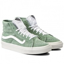 VANS SK8-HI SLIM RETRO SKATE MEN SZ 8.5 / WOMEN SZ 10 SHOES GREE VN0A32R... - £60.96 GBP