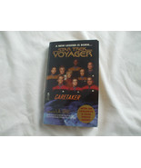 Softcover paperback book Star Trek Voyager  caretaker exclusive 8 page p... - $11.77