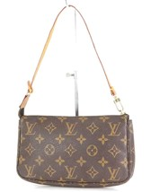 Authentic LOUIS VUITTON Accessory Pochette Monogram Clutch Bag #34203 - $329.00