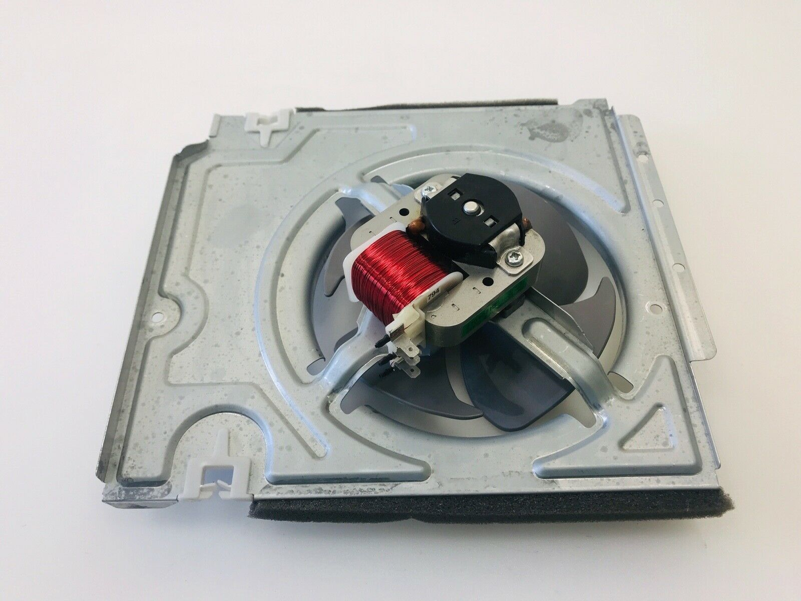 Samsung Microwave Cooling Fan Motor w/Blade & Housing DE31-00045B DE31-00064A image 4