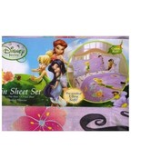 Disney Fairies Tinkerbell Twin/Single Size Sheet Set - $33.25