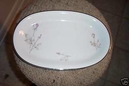 Winterling 13 1/8 oval platter (Platinum Francine)1 ava - $16.78