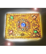 HAUNTED ANTIQUE JEWELED GILT BOX 30000 DIVINE BLESSINGS MAGICK MYSTICAL ... - $154,007.77