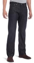 NEW LEVI'S 501 MEN'S ORIGINAL FIT STRAIGHT LEG JEANS BUTTON FLY BLACK 501-5808