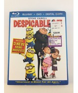 Despicable Me (Blu-ray/DVD, 2010, 2-Disc Set) NEW/SEALED w/ Slipcase - $11.87