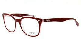 NEW RAY-BAN RB 5285 5738 RED EYEGLASSES FRAME RB5285 AUTHENTIC RX 53-19 - $121.25