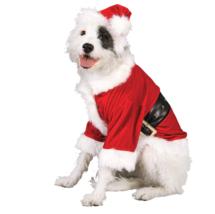 Rubie's Pet Shop Santa Claus Dog Costume Size Large -NEW - $7.91