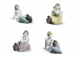 Lladro 01018249 Nostalgia Retired Glazed Porcelain Figurine New - $792.00